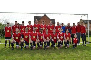 Division One Cup winners Radford Semele.