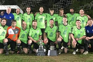 Bishops Itchington picked up four trophies in the 2017/18 campaign.