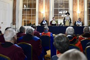 The Annual Meeting of the Warwick Court Leet. Photo by Gill Fletcher.