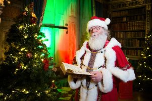 Santa at Warwick Castle