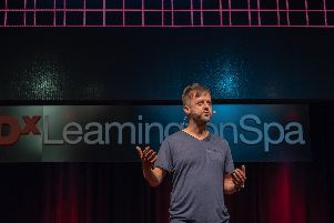 Keith Ayling gave a TEDx talk on songwriting in Leamington last October