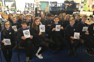 Kenilworth School pupils ready with their questions for NASA's Serena Aun-Chancellor