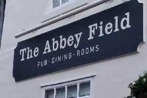 The sign on the new pub is not a mistake, the owners have said