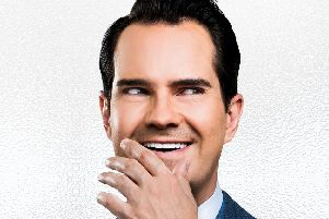 Jimmy Carr is among the acts coming to Leamington