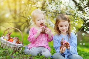Residents are being invited to a free Easter egg hunt. Photo supplied.