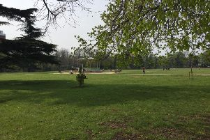 The Pump Room Gardens in Leamington