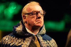 Les Dennis as Priuli. Picture: Helen Maybanks