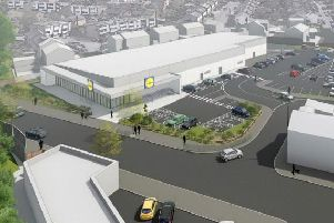 How the site could look if the Lidl plans get the go-ahead. Photo by Lidl.