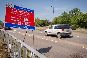 Work has now started on the scheme to improve congestion around Stanks Islands and Birmingham Road