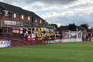 It proves a disappointing trip to Moss Lane for Leamington and their fans.