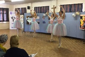 Pupils from Alison Fuller's School of Dance perform at St John's Church in Kenilworth