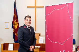 The minister of the Leamington Salvation Army church, Lieutenant Kelsey Pearce