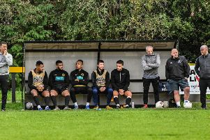 The Racing Club bench
