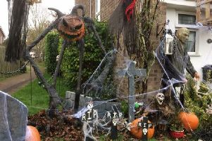 The Maclellan's Halloween House will be returning for its fifth year. Photo by James and Laura Maclellan.