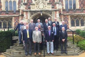 Former Leamington College for Boys pupils held a reunion event to mark 70 years since they attended the school. They held the event at Audley Binswood retirement village - the site of the college.