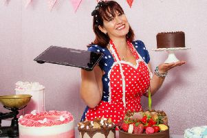 Saffron Medway swapped her Weightwatchers scales for kitchen scales to run her own baking business. Photos by Annie Johnston Photography