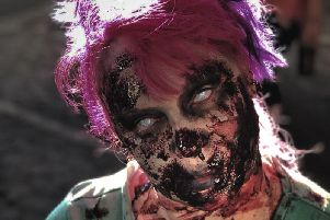 A Zombie from the event