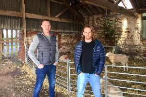 Luke Weetman, and his business partner Rich Bartle planto open a gin distillery on theEast Chase Farm property.