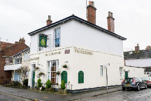 The Cricketers Pub in Archery Road, Leamington.
