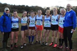 Leamington's senior and masters' team at Warley Woods.