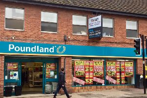 Poundland in Kenilworth town centre