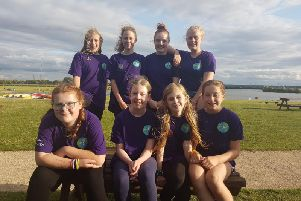 4th Whitnash Guides group on their camp in Staffordshire from August 2019.