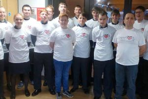 Cadets and staff from 2028 Southam Squadron Air Training Corps took part in a sponsored swim at the Southam Leisure Centre swimming pool in an effort to raise money for the 'veterans' home from home' at Fisher HouseatQueen ElizabethHospital inBirmingham.