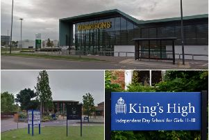 Pupils from Warwick School and Kings High School will be showcasing their products at Morrisions in Leamington this weekend. Photos by Google Street View and Gill Fletcher.