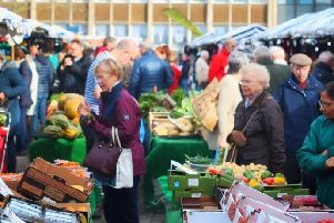 Warwick Market has been cancelled for a third week. Photo by CJ's Events Warwickshire