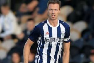 West Brom and Northern Ireland's Jonny Evans