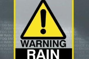 Yellow weather warning for Northern Ireland,