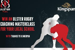 Win an Ulster Rugby Coaching Masterclass for your local school