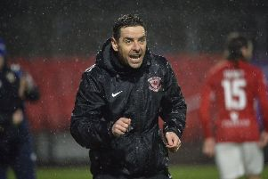 Larne boss Tiernan Lynch. Pic by INPHO.