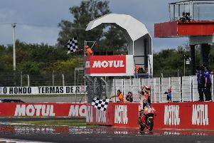 Marc Marquez dominated the Argentinian MotoGP and now leads the championship