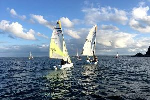 Sailing with County Antrim Yacht Club (courtesy of CAYC).