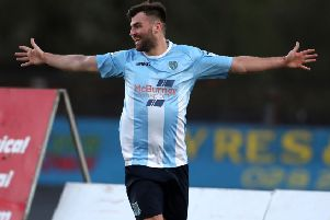 Johnny McMurray - picture in Ballymena United colours - has signed for Larne. Pic by PressEye Ltd.