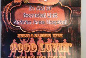 Larne Line Dancers are holding a fundraising event in aid of Neonatal Unit, Antrim Area Hospital.