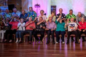 Nearly 400 older people came together to celebrate Mid and East Antrim Agewell Partnership's Peacing Ages Together project