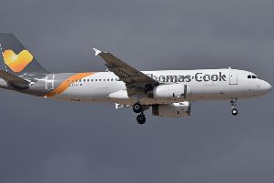Thomas Cook. Archive pic.