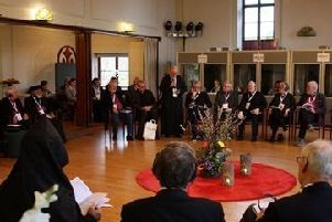 Church leaders pictured at the 37th Ecumenical Meeting of Bishops in Sigtuna, Sweden, November 2018. Photo CSC Media.