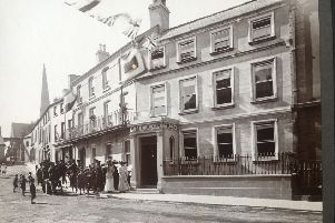 Carlton House - an image from the official opening in 1908 in Market Place - which will feature in the Heritage Exhibition and Roadshow as part of the 175th Anniversary of YMCA.
