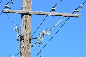 The outage occurred shortly after 10am.
