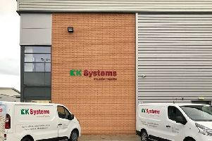 The recently opened distribution and office facility in St Helens, Liverpool.