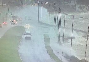 Trafficwatch is advising people to avoid Carrick's Belfast Road.