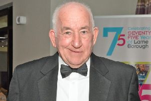 Sean Agnew pictured in 2015 during an event in Ballygally Castle Hotel. INLT 12-015-PSB