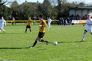 Joseph Wright scored Whitnash's goal in their draw with Copsewood.