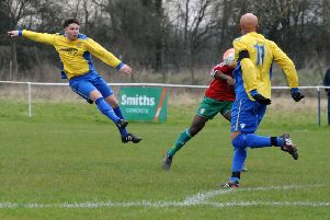 Luke Wilson, seen here in action for Southam, scored Whitnash's second.
