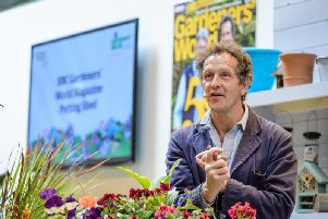 Monty Don at BBC Gardeners' World in 2017
