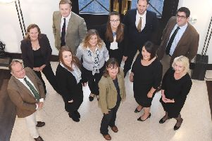 Law firm's Wright Hassall's agricultural team.