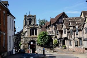 Warwick Court Leet's winter beer festival will be returning to the Lord Leycester Hospital next month. Photo by Gill Fletcher.
